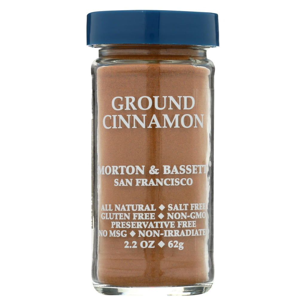 Morton And Bassett Seasoning - Cinnamon - Ground - 2.7 Oz - Case Of 3