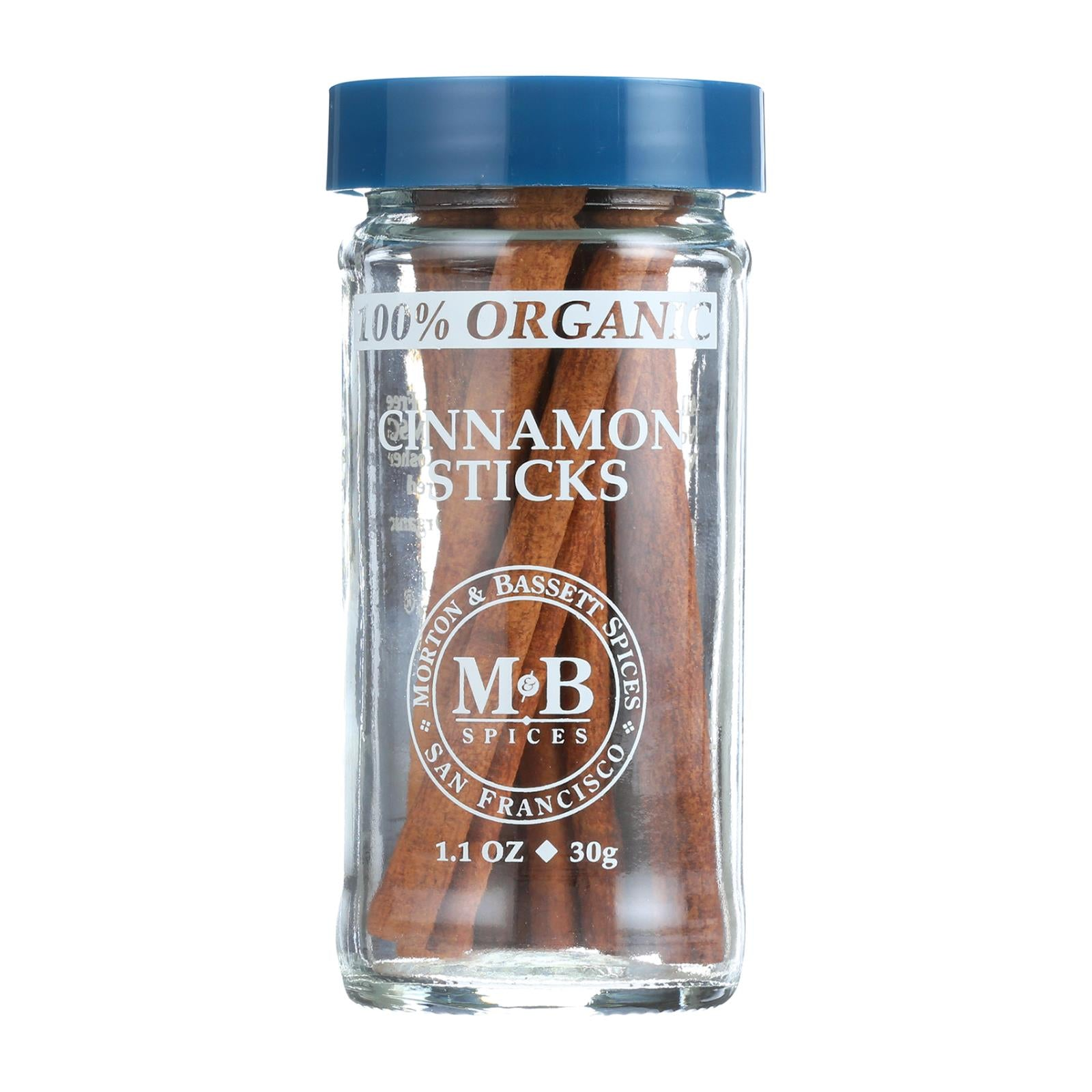 Morton And Bassett Cinnamon Sticks - Cinnamon - Case Of 3 - 1.1 Oz. HG0135244
