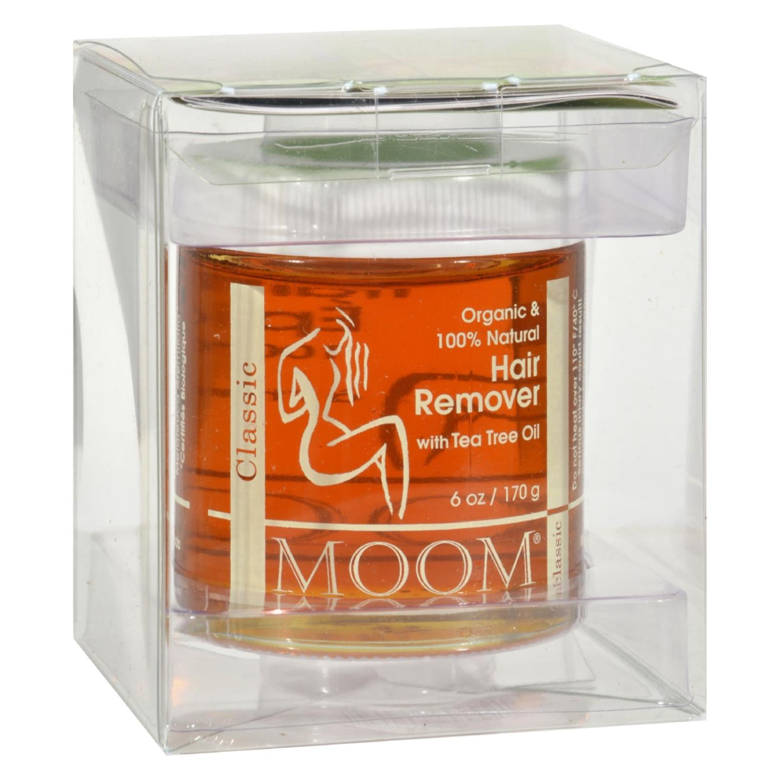 Moom Organic Hair Remover With Tea Tree Oil 6 Fl Oz HG0166876