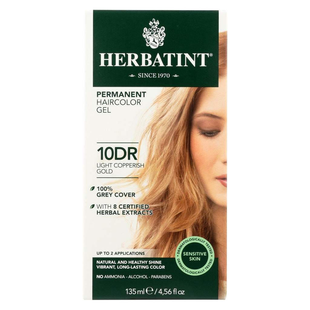 Herbatint Permanent Herbal Haircolour Gel 10 Dr Light ...