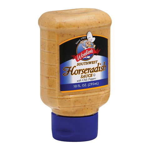 Woeber's Supreme Southwest Horseradish Sauce - Case Of 6 - 10 Oz.