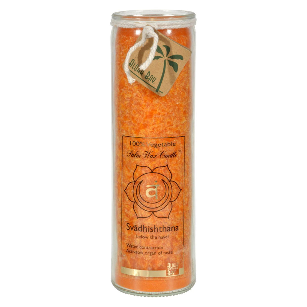 Aloha Bay Unscented Chakra Jar Love Svadhishthana Orange - 1 Candle - The Green Life