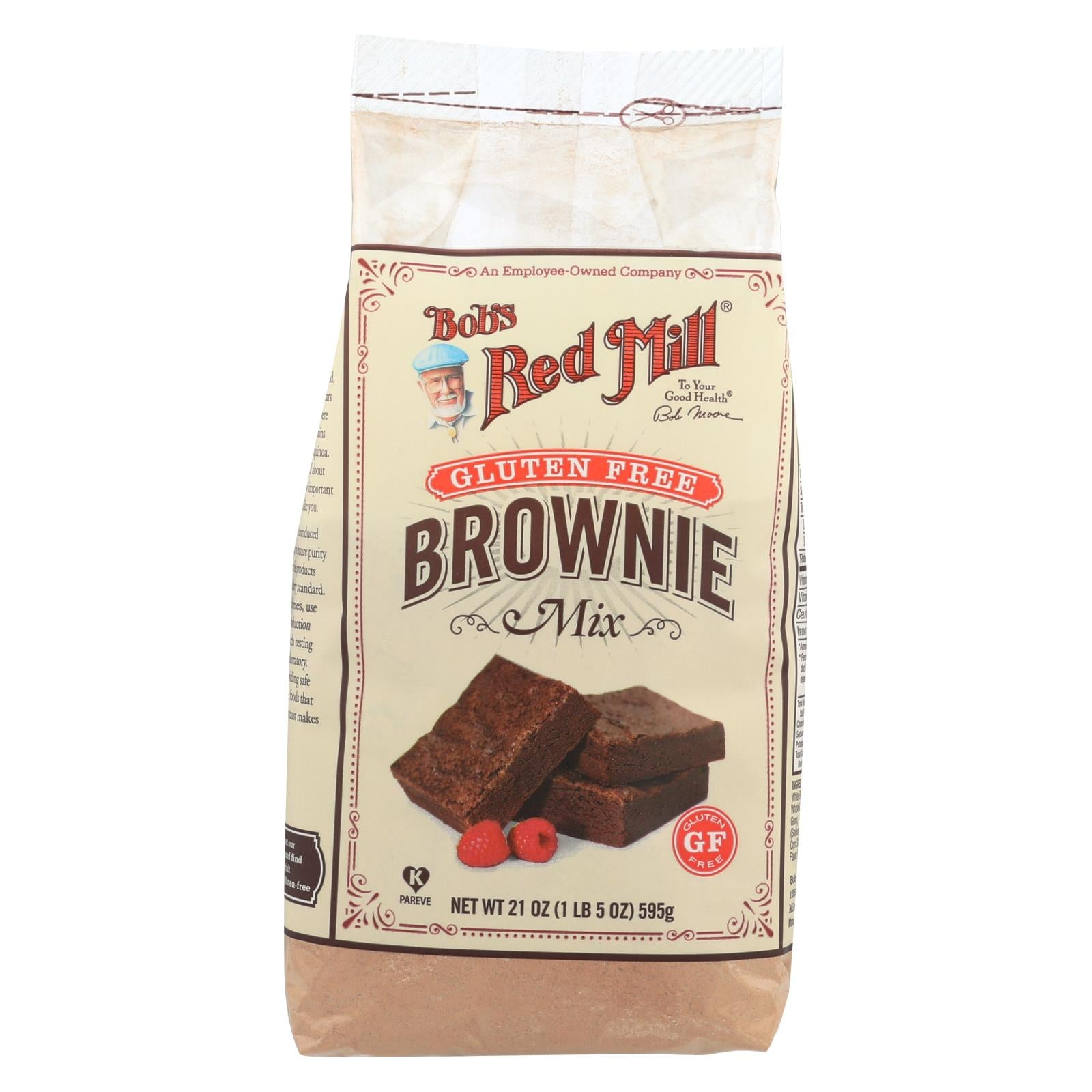 Bob's Red Mill Gluten Free Brownie Mix - 21 Oz - Case Of 4 HG0315259