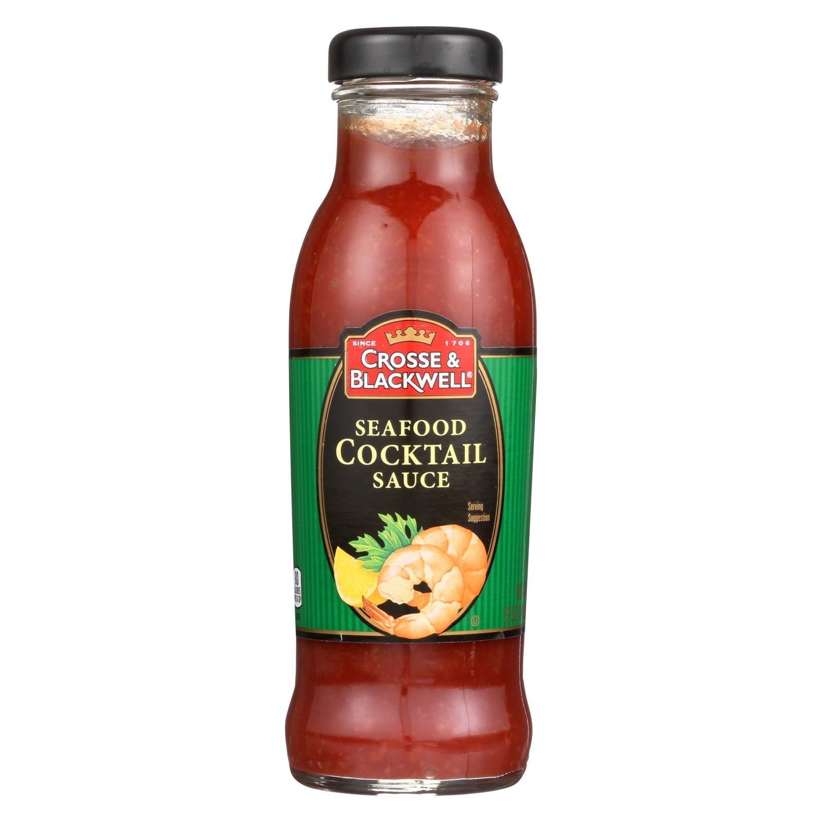 Crosse And Blackwell Seafood Sauce - Cocktail Sauce - Case Of 6 - 12 Oz. HG0324624