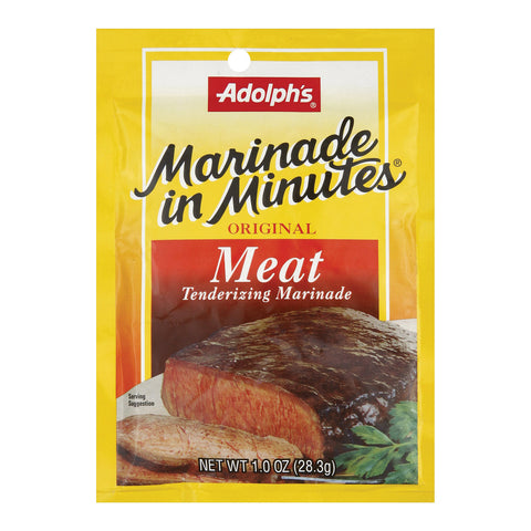 Adolphs - Marinade - Meat - Case Of 24 - 1 Oz