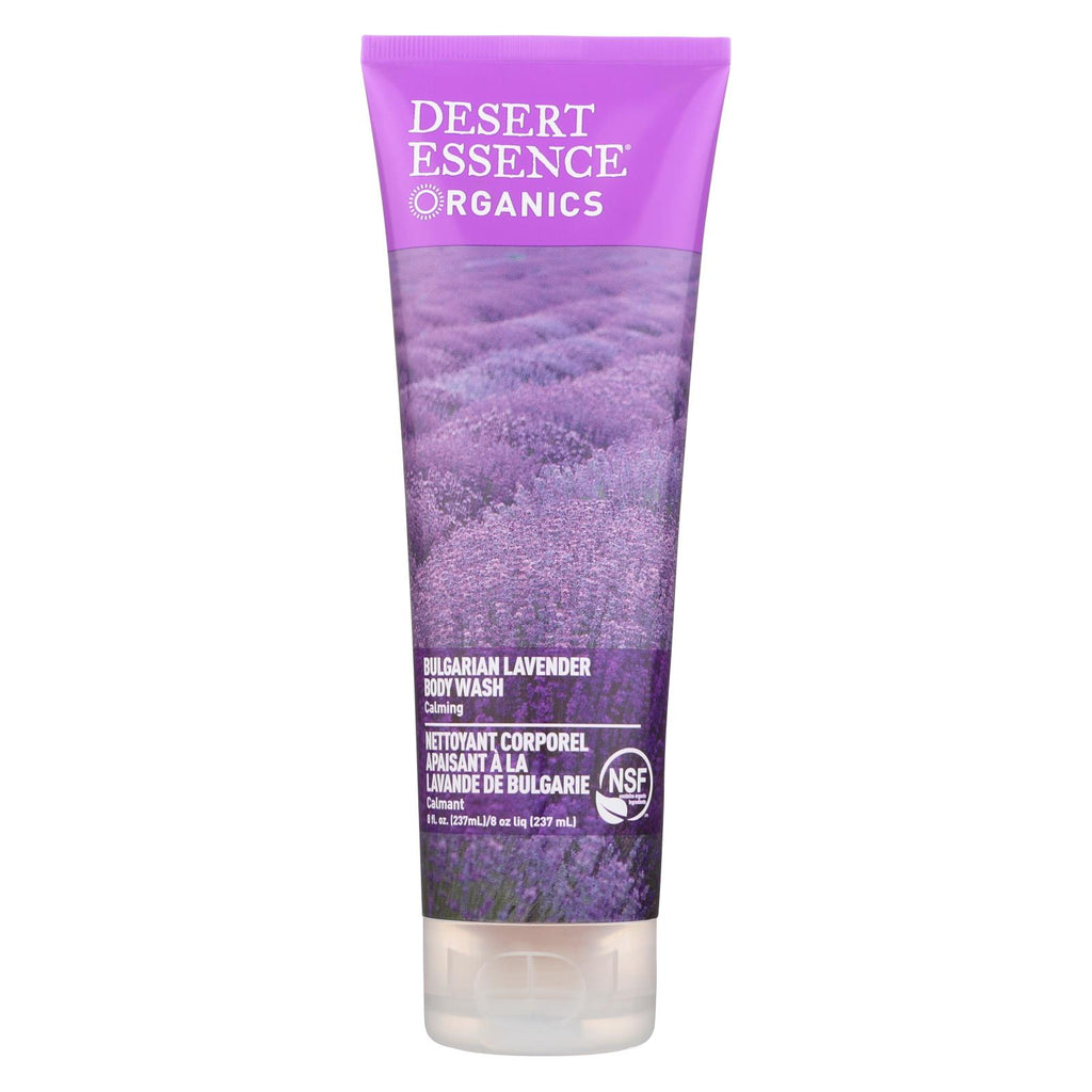 Desert Essence - Body Wash Bulgarian Lavender - 8 Fl Oz