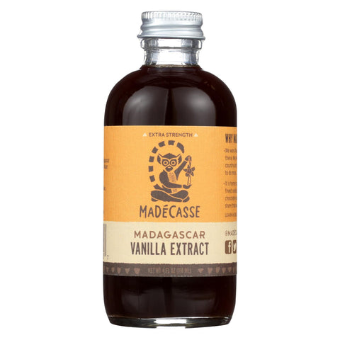 Madecasse Pure Bourbon Vanilla Extract - Case Of 12 - 4 Fl Oz.