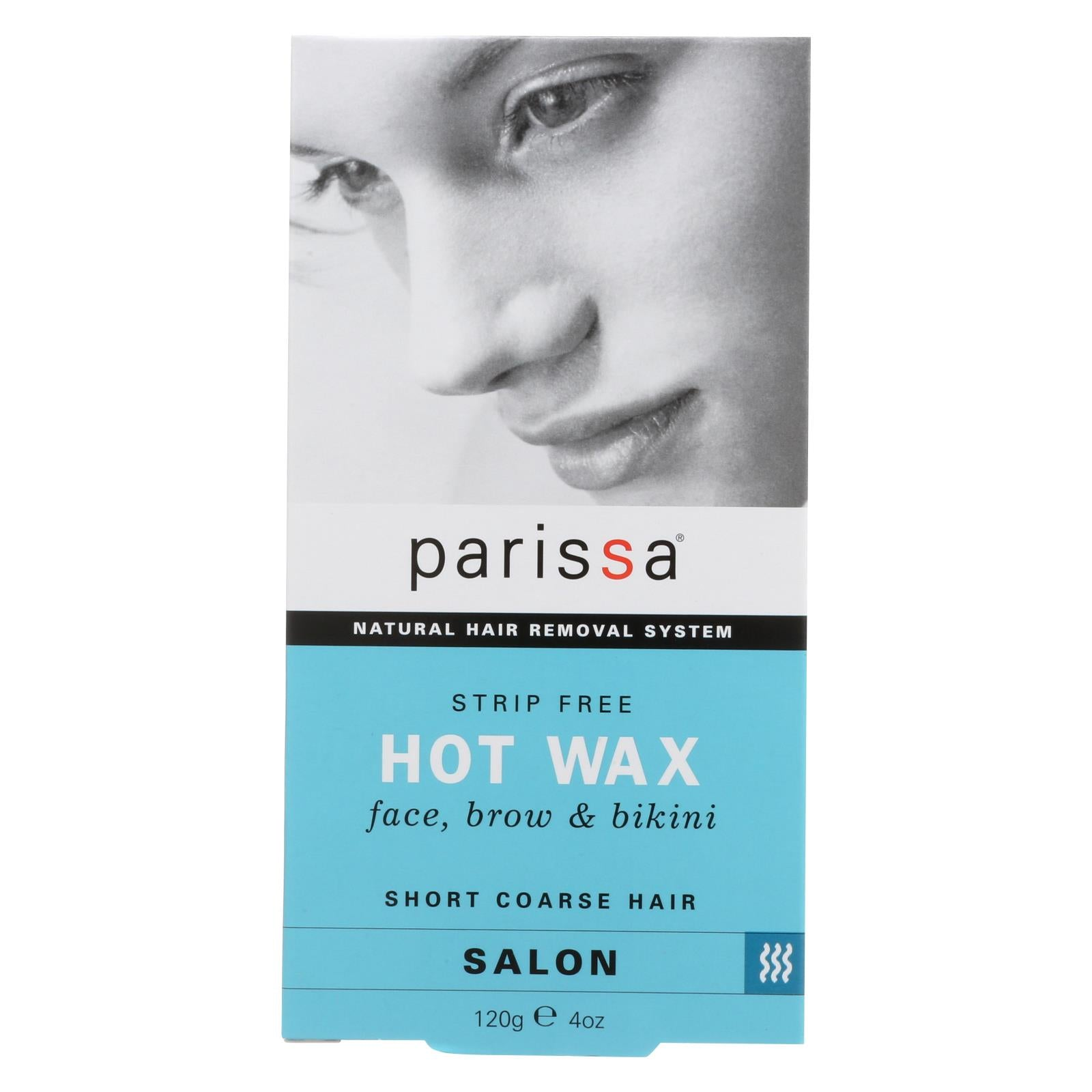 Parissa Natural Hair Removal System Hot Wax - 4 Oz HG0521872