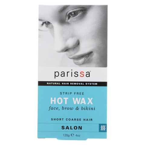 Parissa Natural Hair Removal System Hot Wax - 4 Oz