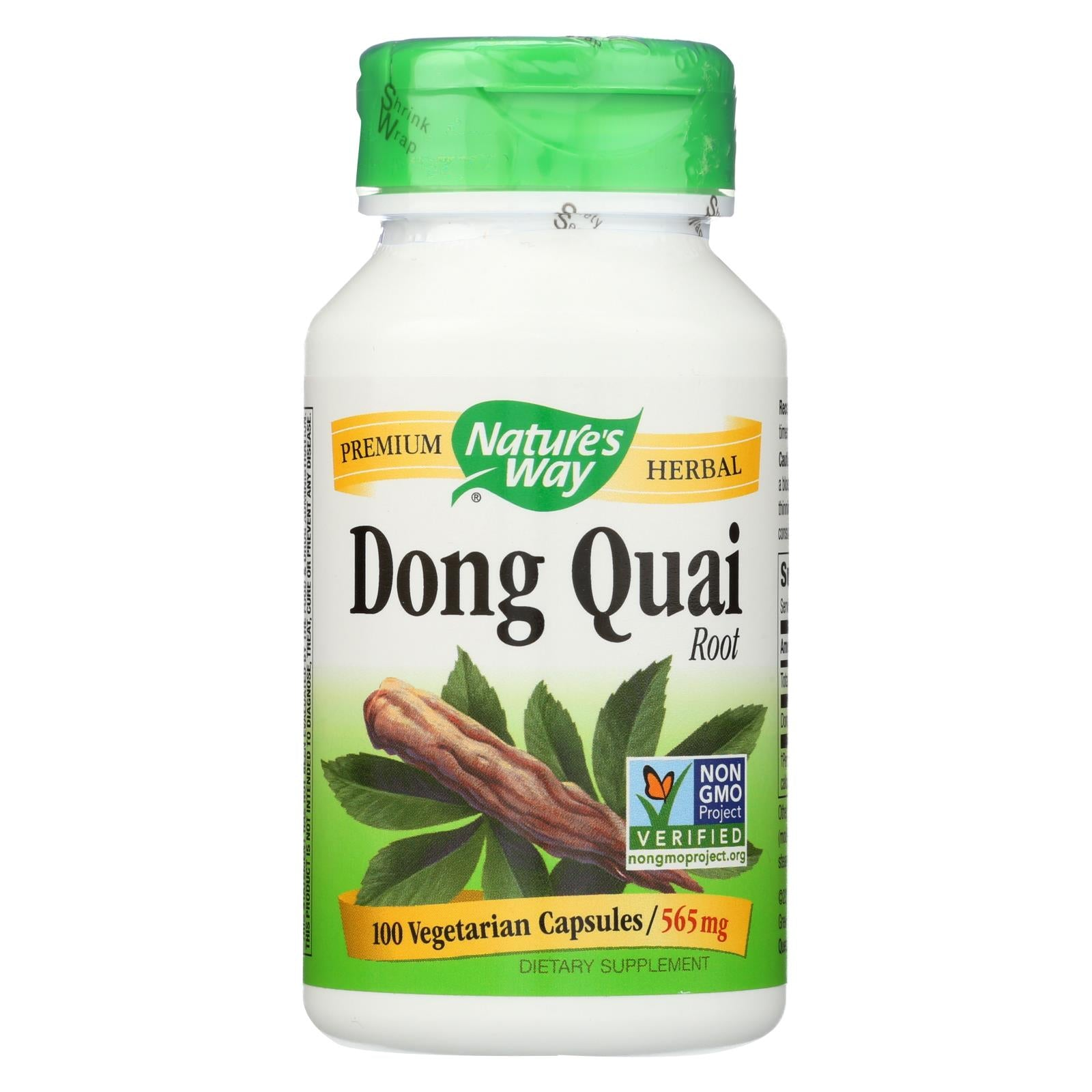 Nature's Way Dong Quai Root - 100 Capsules HG0564807