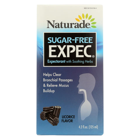 Naturade Expec Ii Herbal Cough Surfactant - 4.2 Oz