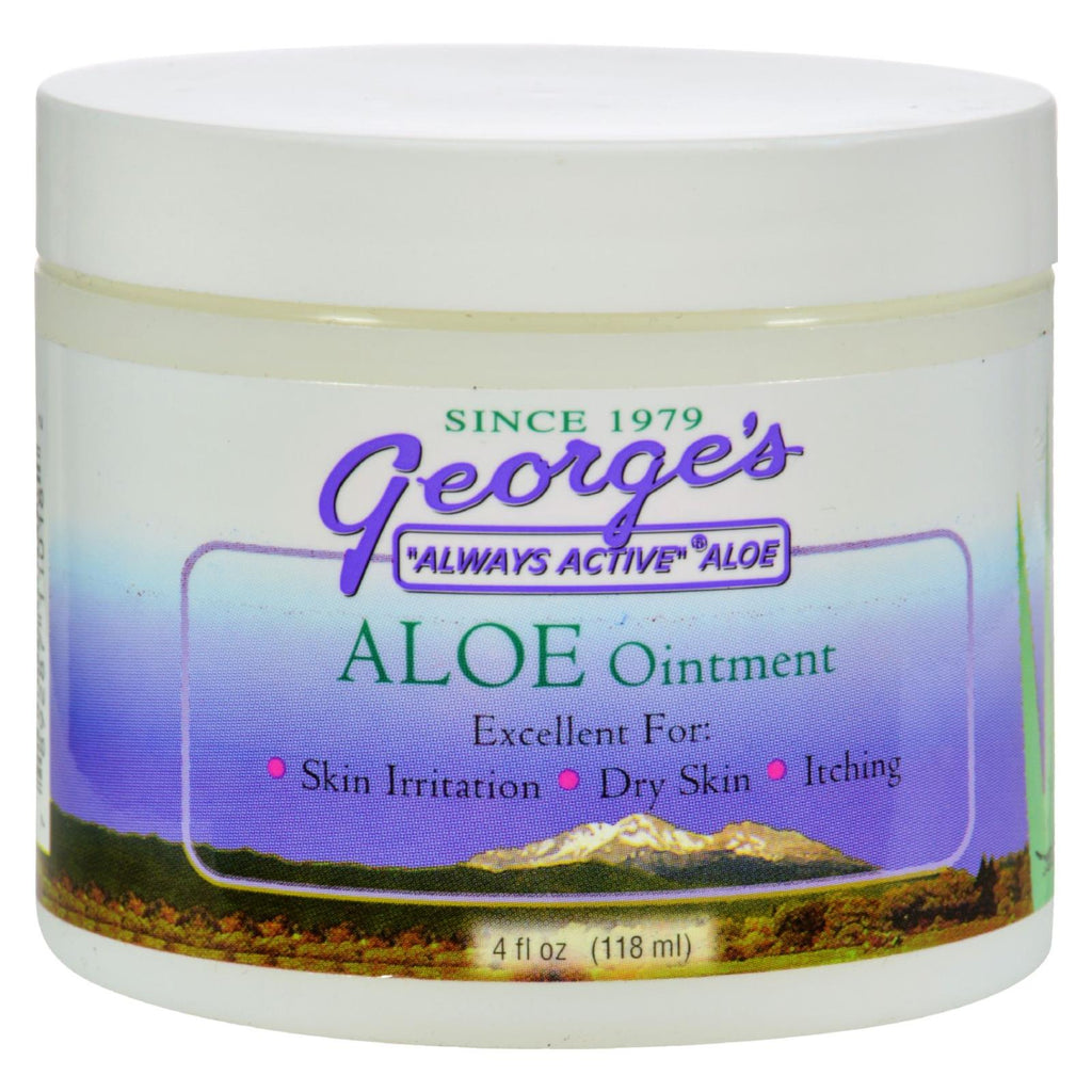 George's Aloe Vera Ointment - 4 Fl Oz - The Green Life