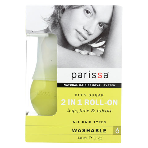 Parissa Quick And Easy Hair Removal 2 In 1 Roll On - 7 Oz