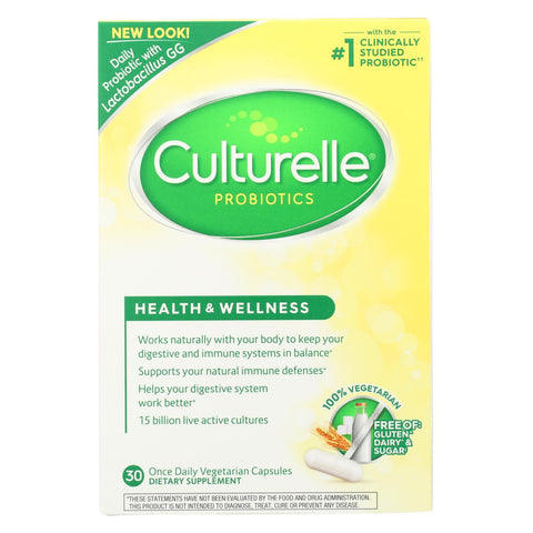Culturelle - Probiotic - 30 Vegetable Capsules