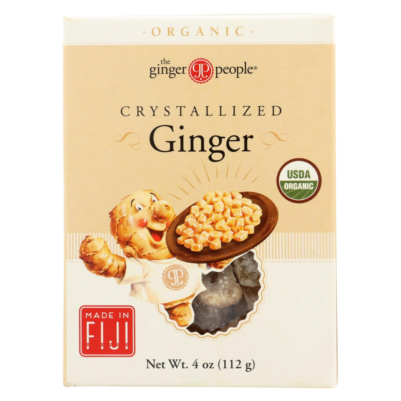 Ginger People Organic Crystallized Ginger Box - 4 Oz - Case Of 12 HG0774497