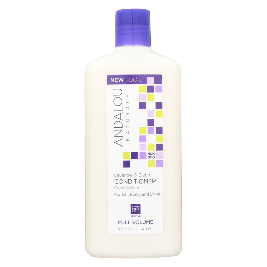 Andalou Naturals Full Volume Conditioner Lavender And Biotin - 11.5 Fl Oz