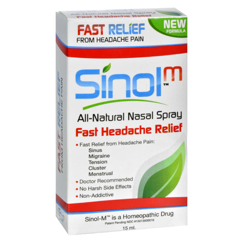 Sinol Headache Relief Nasal Spray - 15 Fl Oz