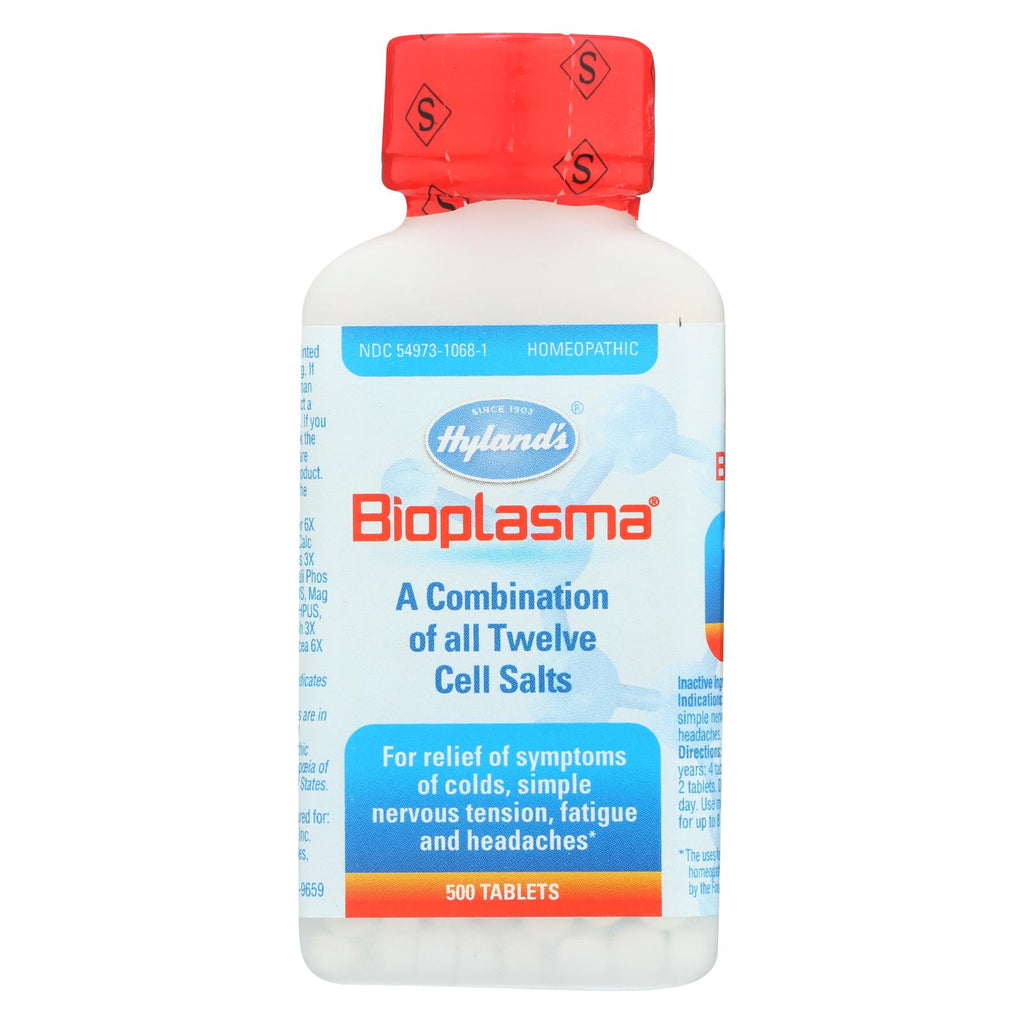 Hylands Homeopathic Bioplasma Cell Salts - 500 Tablets - The Green Life