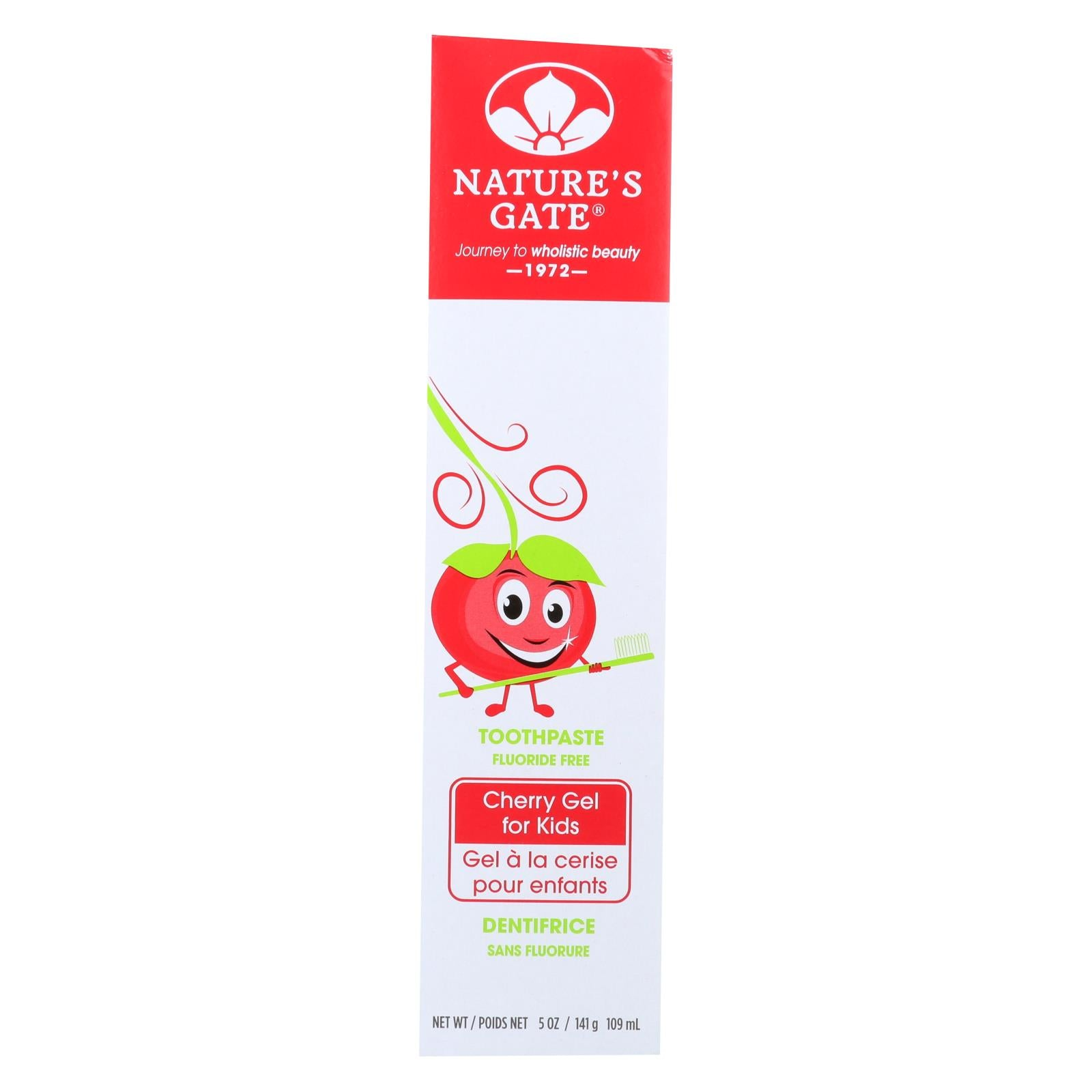 Nature S Gate Children S Toothpaste