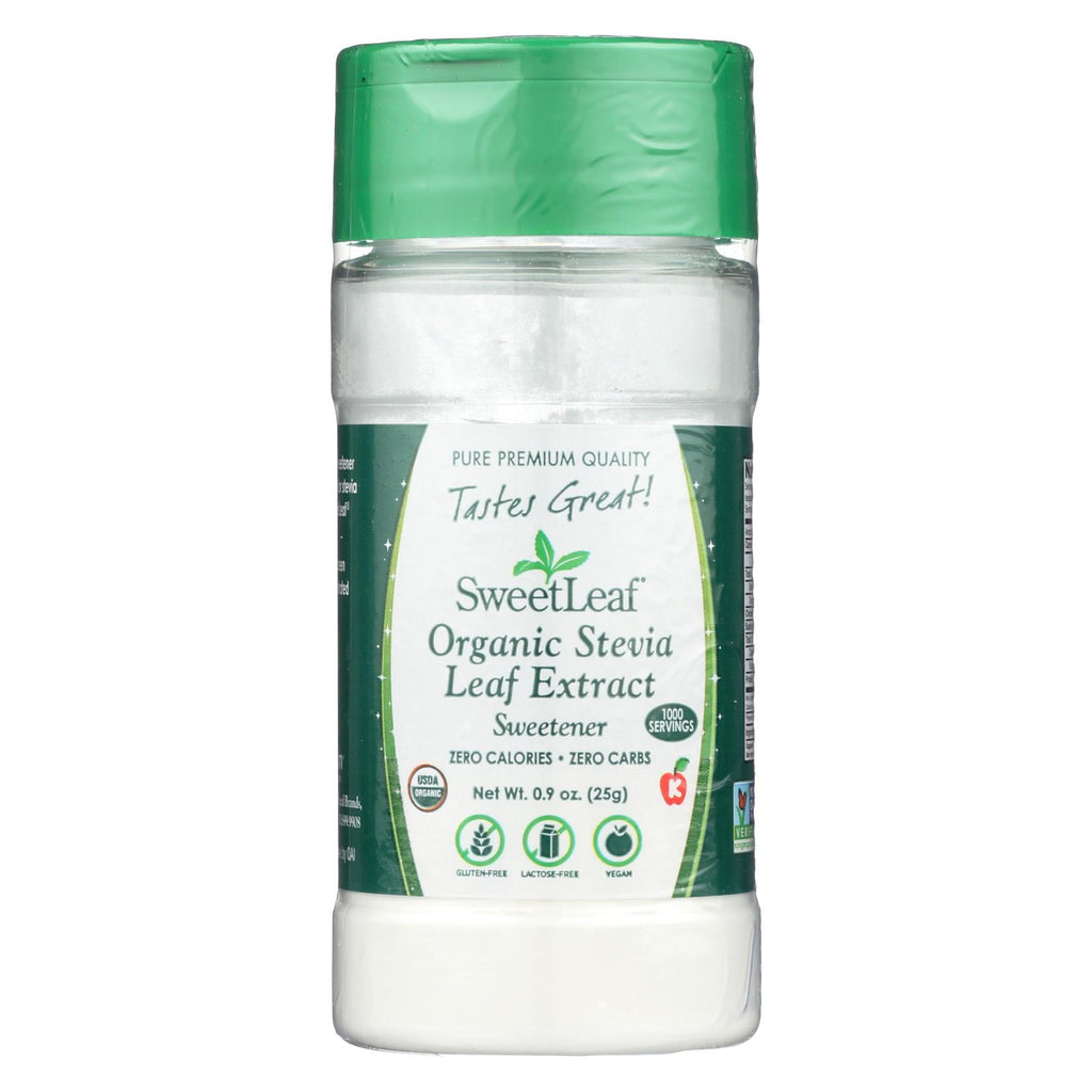 Sweet Leaf Stevia Extract - 0.9 Oz - The Green Life