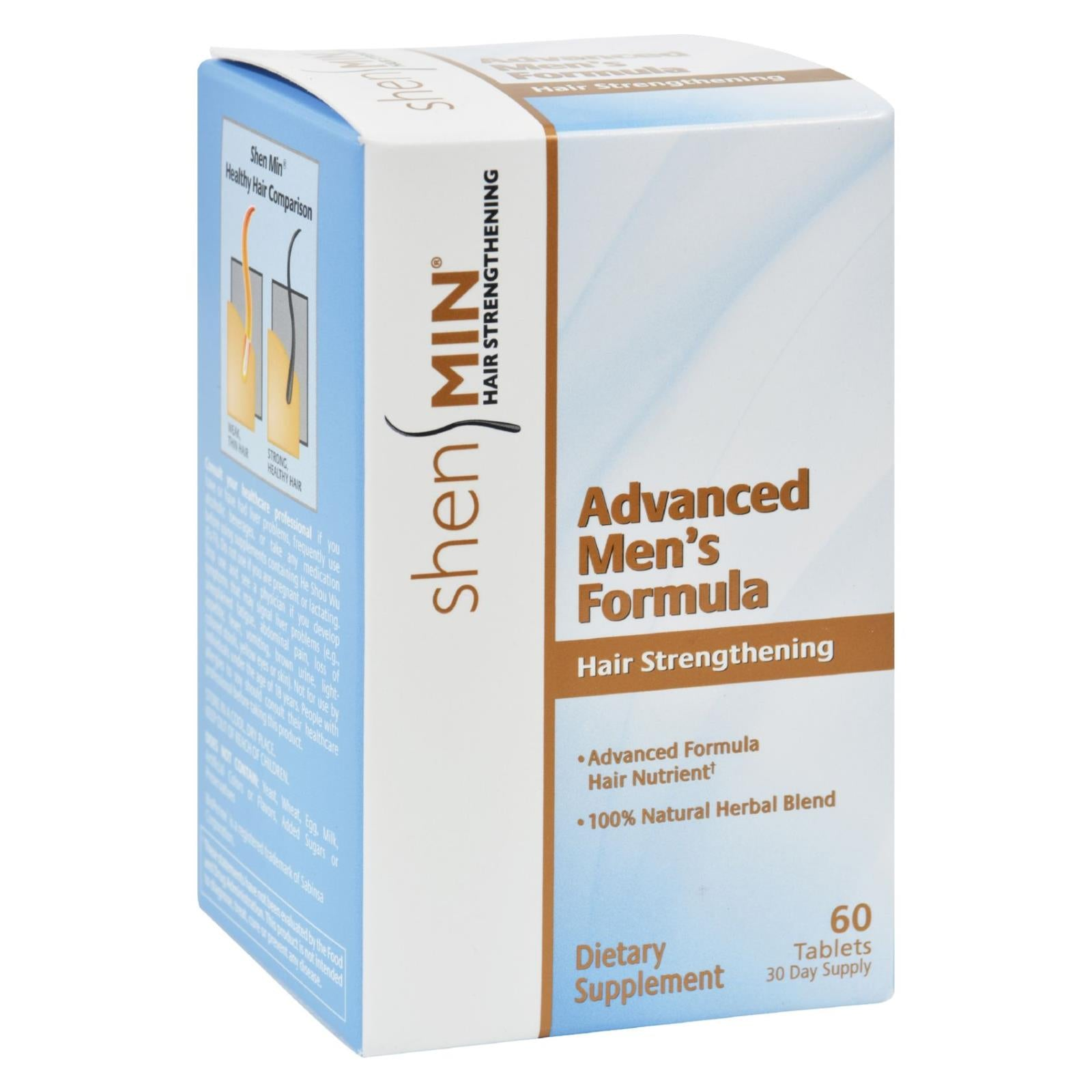 Shen Min Hair Nutrient Advanced Men's Formula - 60 Tablets HG0908210