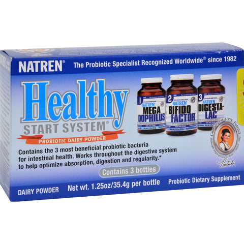 Natren Healthy Start System With Dairy - 1 Pack