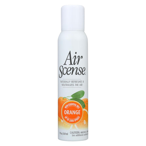 Air Scense Air Freshener - Orange - Case Of 4 - 7 Oz - The Green Life