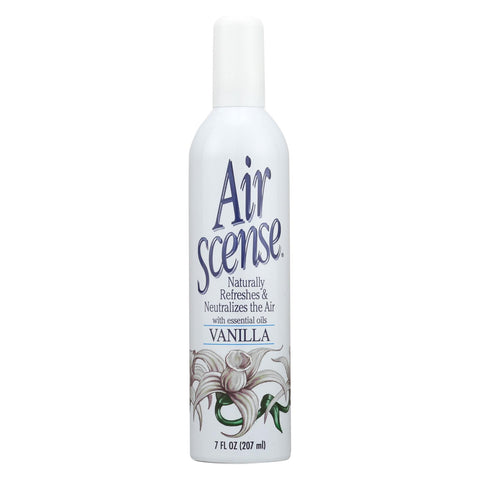 Air Scense Air Freshener - Vanilla - Case Of 4 - 7 Oz - The Green Life