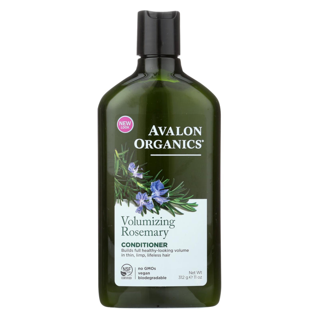 Avalon Organics Volumizing Conditioner With Wheat Protein And Babassu Oil Rosemary - 11 Fl Oz