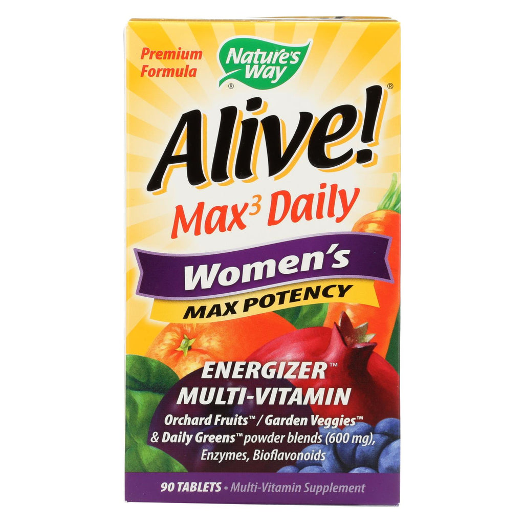 Amazon Nature S Way Alive Whole Food Energizer