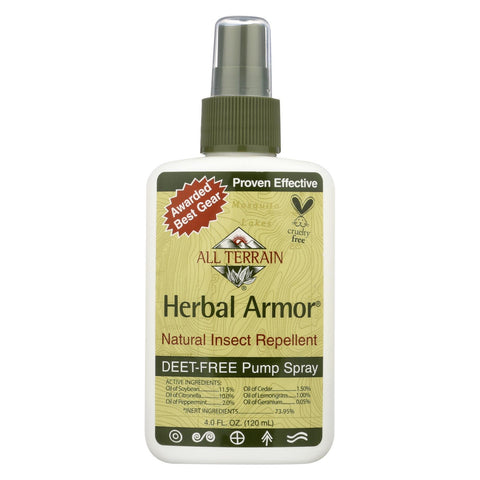 All Terrain - Herbal Armor Natural Insect Repellent - 4 Fl Oz