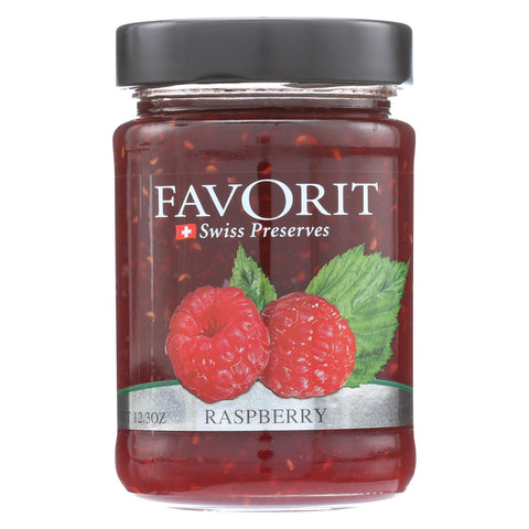 Favorit Preserves - Swiss - Raspberry - 12.3 Oz - Case Of 6