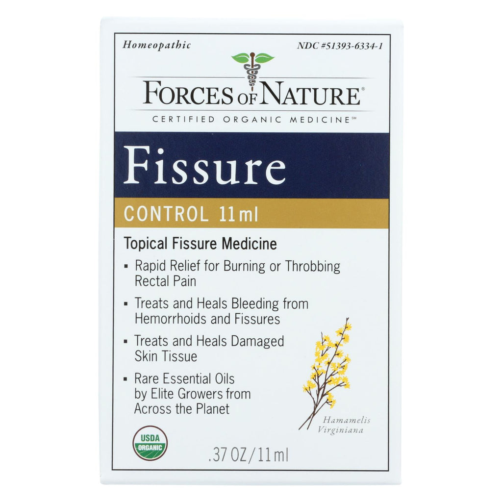 Forces Of Nature Organic Fissure Control - 11 Ml - The Green Life