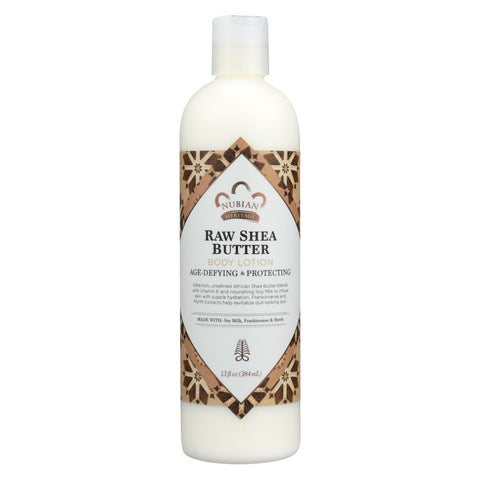 Nubian Heritage Lotion Raw Shea And Myrrh - 13 Oz