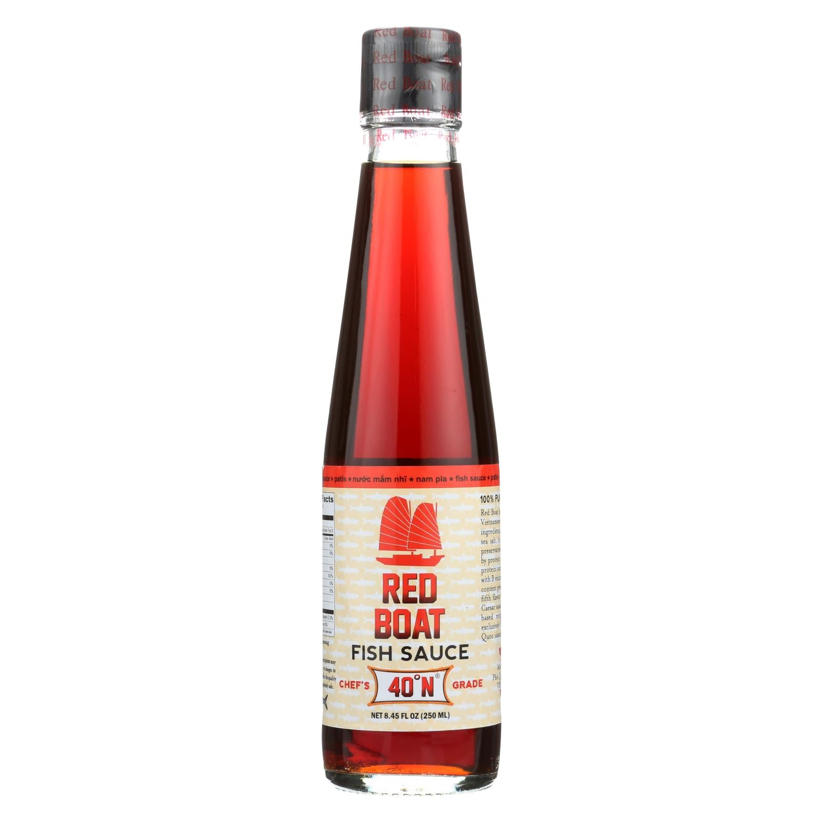 Red boat fish sauce premium fish sauce case of 6 250 for Red fish sauce