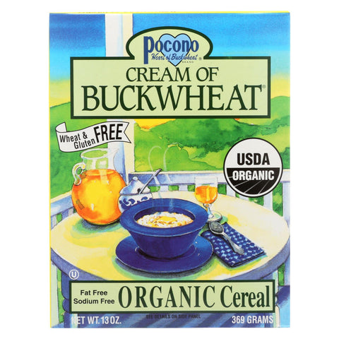 Pocono Cream Of Buckwheat - Organic - Case Of 6 - 13 Oz.