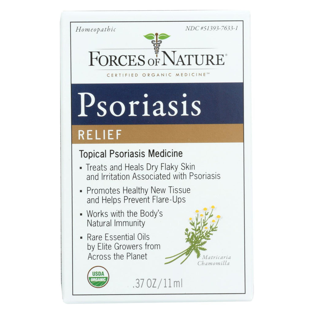 Forces Of Nature Organic Psoriasis Control - 11 Ml - The Green Life