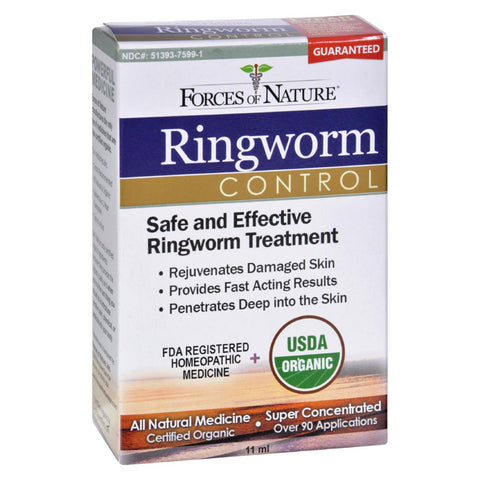 Forces Of Nature - Organic Ringworm Control - 11 Ml