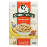 Gluten Freeda Instant Oatmeal - Banana Maple - Case Of 8 - 11.05 Oz.