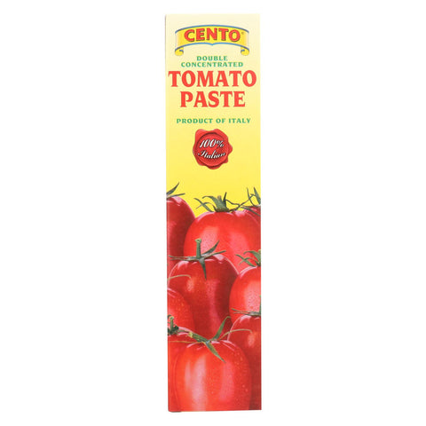 Cento - Tomato Paste - Tube - Case Of 12 - 4.56 Oz.