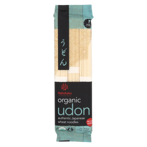 Hakubaku Organic Udon - Case Of 8 - 9.52 Oz.