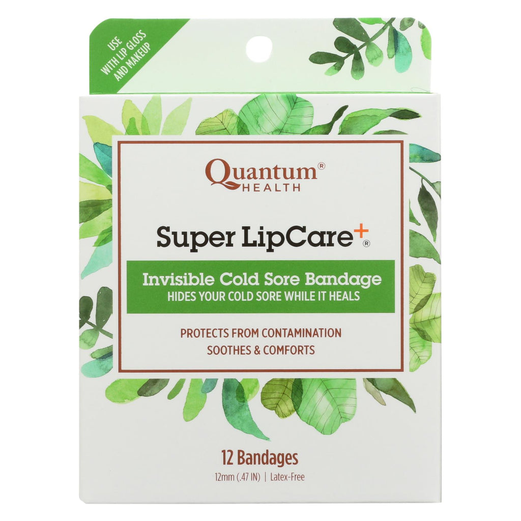 Quantum Research Lipcare Plus Invisible Cold Sore Bandage - 12 Count - The Green Life