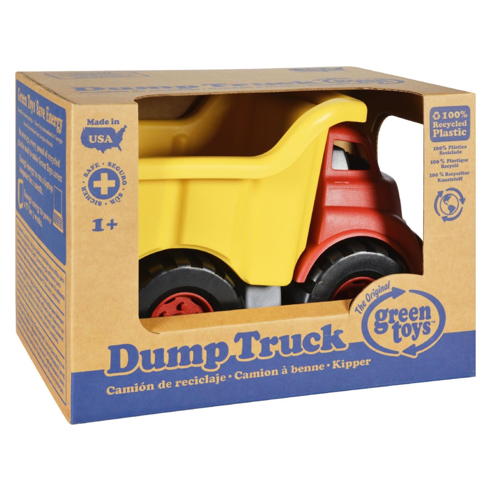 Green Toys Dump Truck - Red and Yellow HG1203280