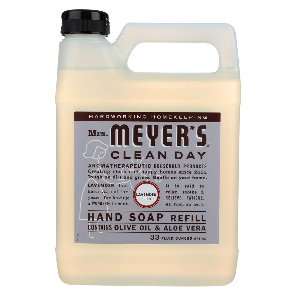 Mrs. Meyer's Liquid Hand Soap Refill - Lavender - 33 Lf Oz - The Green Life