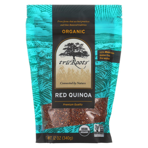 Truroots Organic Red Quinoa - Case Of 6 - 12 Oz.