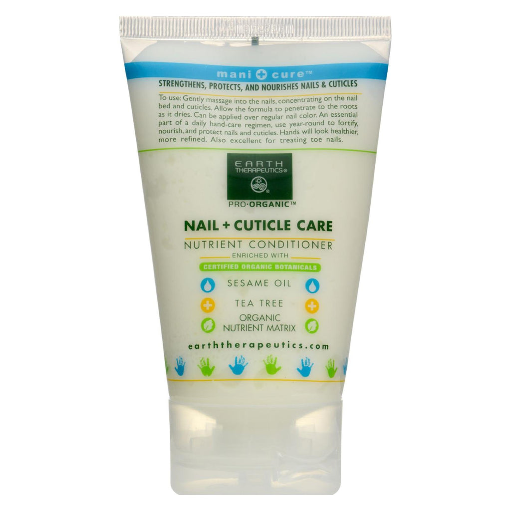 Earth Therapeautics Nail And Cuticle Care - 4 Oz - The Green Life