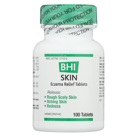Bhi - Skin Eczema Relief - 100 Tablets