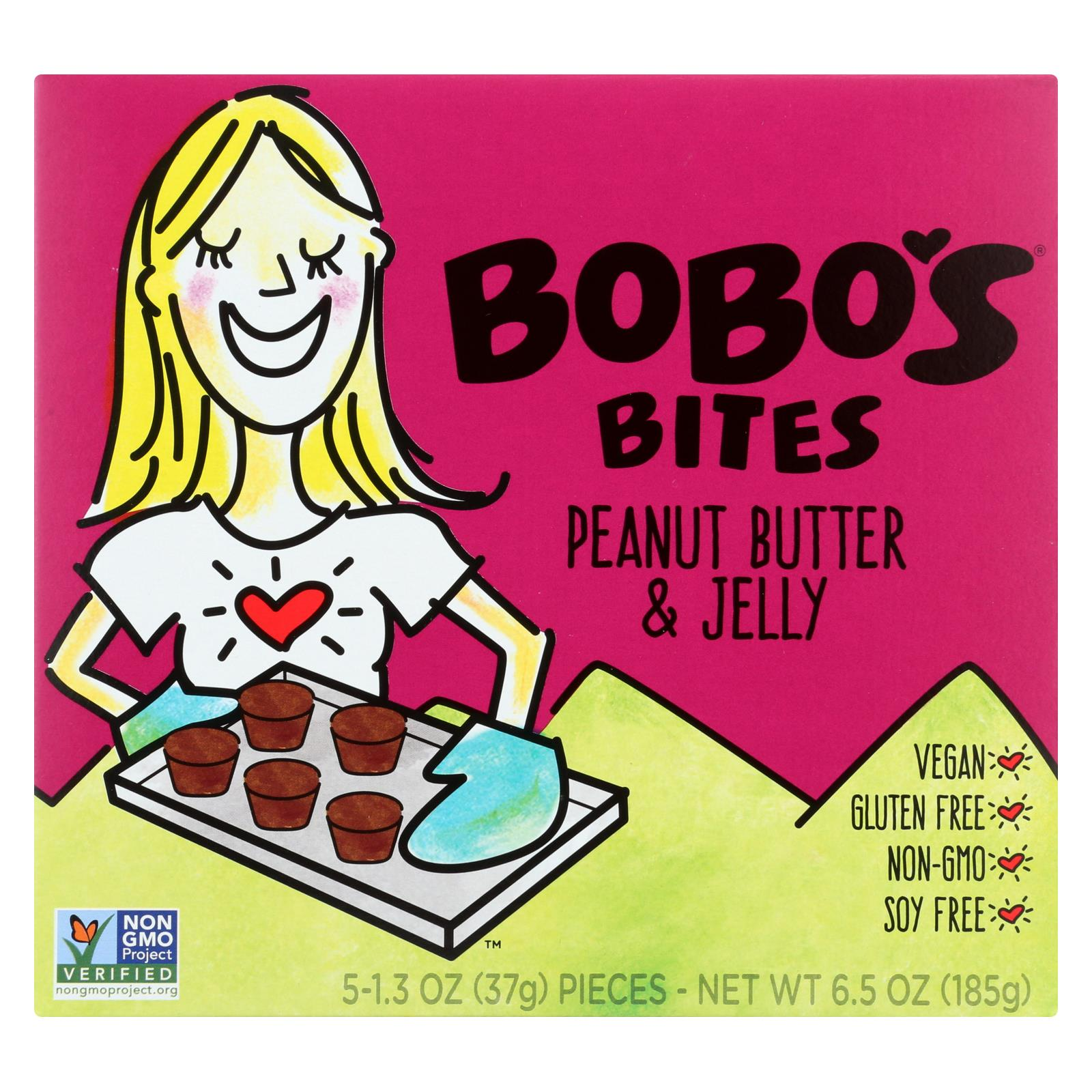 Bobo's Oat Bars Peanut Butter And Jelly - Gluten Free - Case Of 6 - 1.3 Oz. HG1567585