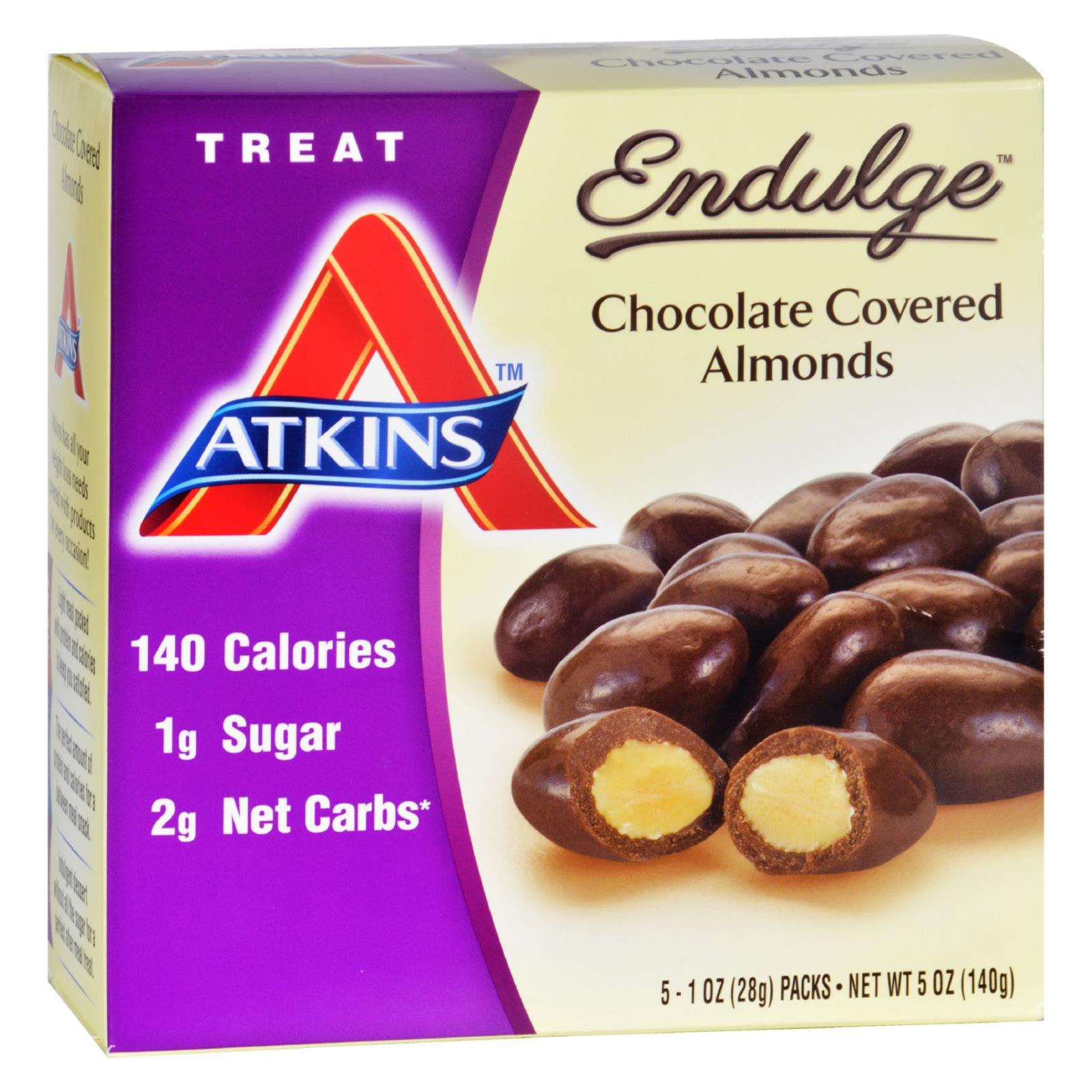 Atkins Endulge Pieces - Chocolate Covered Almonds - 5 Ct - 1 Oz - 1 Case HG1583582