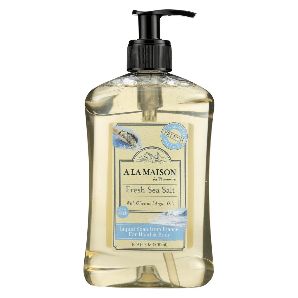 A la maison french liquid soap fresh sea salt 16 9 oz for A la maison liquid soap